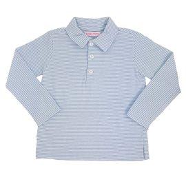 Peggy Green Long Sleeve Polo