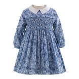 Rachel Riley Blossom Smocked Dress