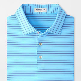 Peter Millar Youth Craft Stripe Performance Polo