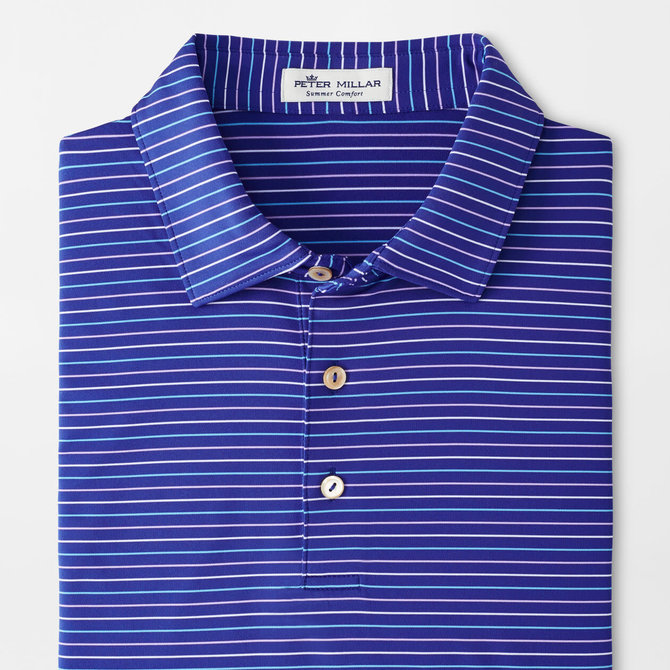 Peter Millar Youth Boat Stripe Performance Polo