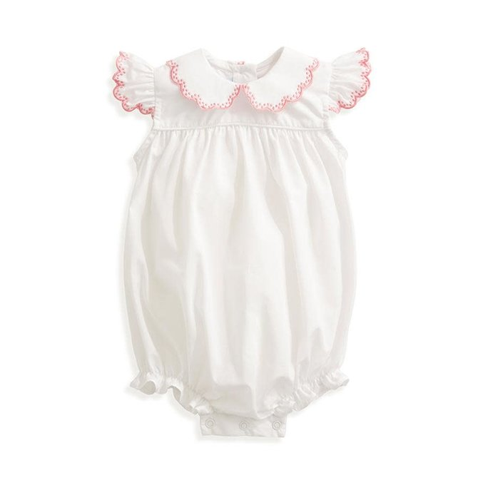 Bella Bliss Rose Embroidered Bubble