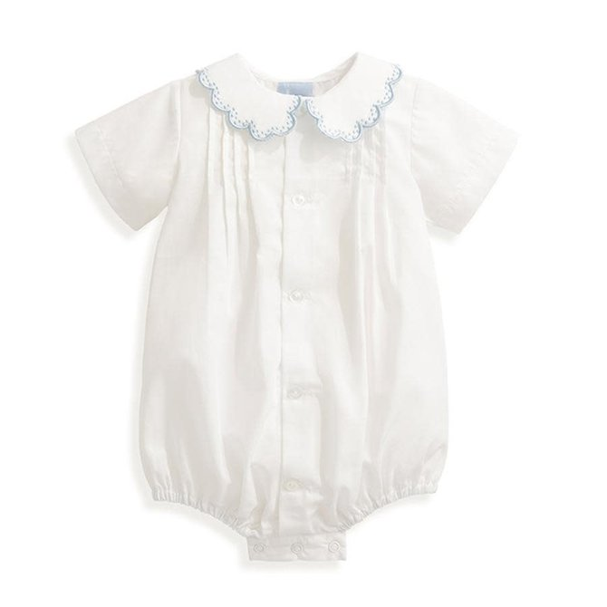 Bella Bliss Butler Embroidered Bubble Blue