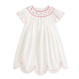 Bella Bliss Avery Embroidered Heart Dress