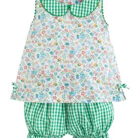 Little English Lily Bloomer Set- Augusta Floral