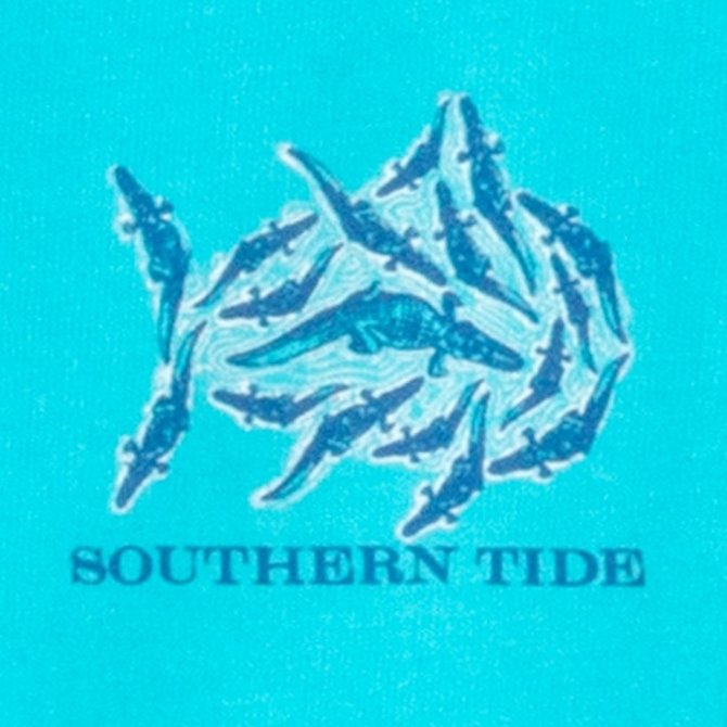Southern Tide Youth SS Gator Frenzy Tee