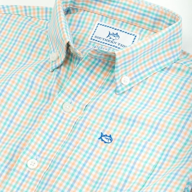 Southern Tide Youth Tattersall Sportshirt