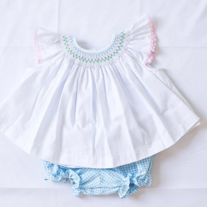 Peggy Green Millie Bloomer Set