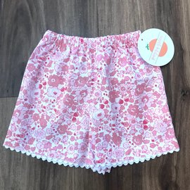 Peggy Green Girls Two-Pocket Short
