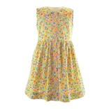 Rachel Riley Summer Floral Button Front Dress