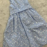 Gabby Blue Floral Sundress