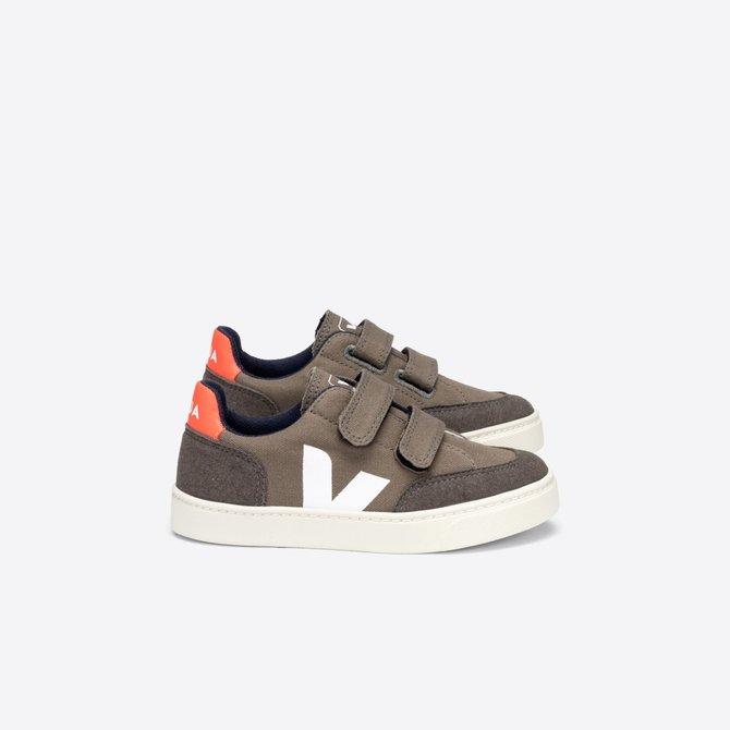 Veja Junior Sneaker Kaki Pierre Orange