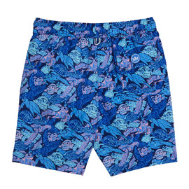 Peter Millar Peter Millar Youth Turtle Atlantic Blue Swim Shorts