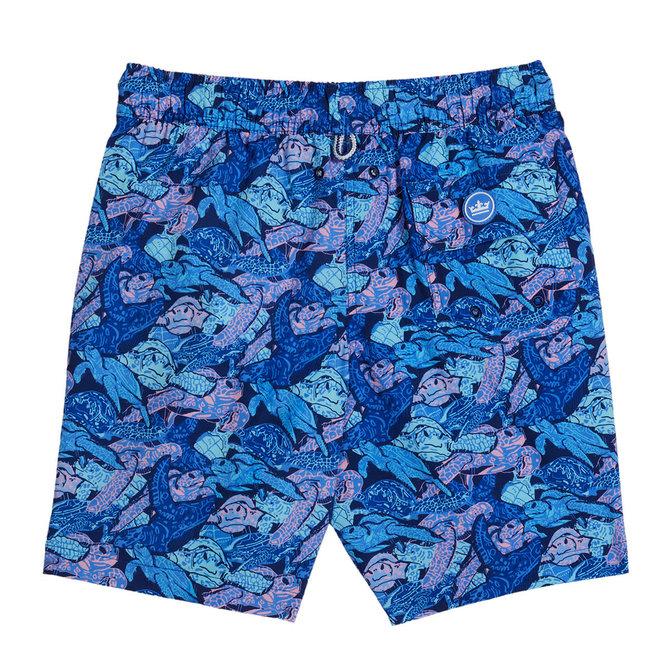 Peter Millar Peter Millar Youth Turtle Atlantic Blue Swim Shorts