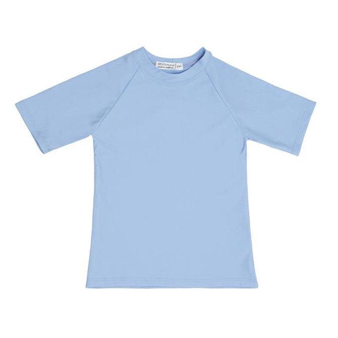 Minnow Swim Peri Blue Short Sleeve Rashguard