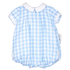 Sophie & Lucas Blue Check Bubble