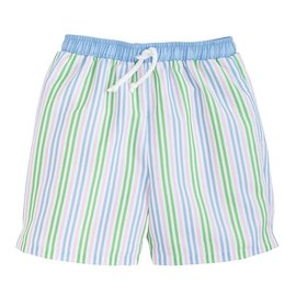 Little English Board Short - Summer Stripe