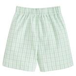 Little English Basic Short - Green Plaid