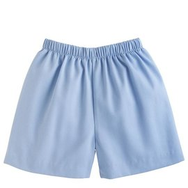 Little English Basic Short - Light Blue Twill