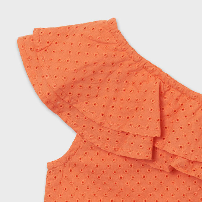Mayoral Perforated Blouse