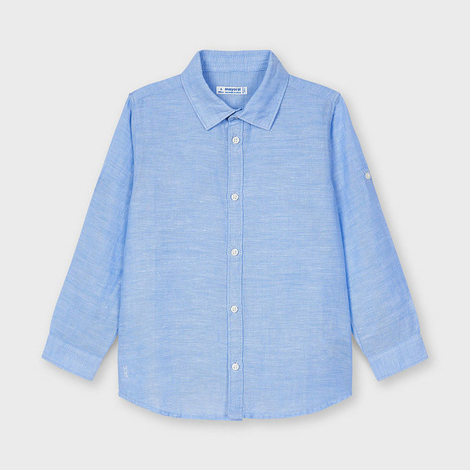 Mayoral Basic Linen Shirt