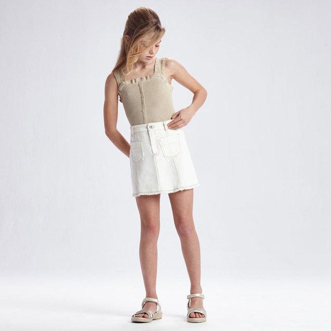 Mayoral Twill Skirt