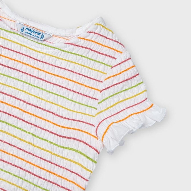 Mayoral Smocked Stiched Shirt