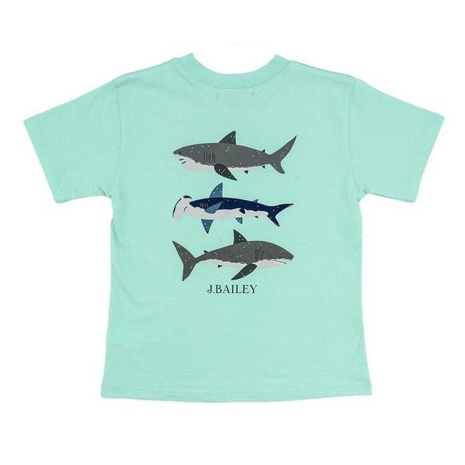 The Bailey Boys Logo Tee Sharks