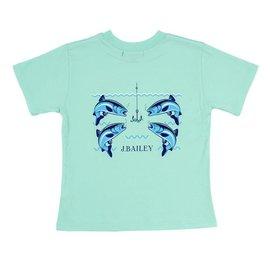 The Bailey Boys Logo Tee Fish with Hooks