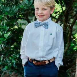 The Bailey Boys LS Button Down Roscoe Shirt Oxford White
