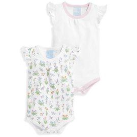Bella Bliss Girl's Pima Onsie Set