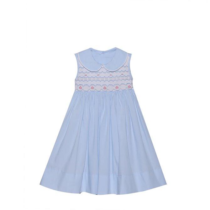 Remember Nguyen Blue Phoenix Dress
