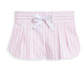 Bella Bliss Whitley Short- Pink Wide Oxford Stripe