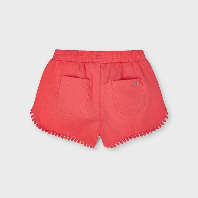 Mayoral Knit Pom Pom Shorts