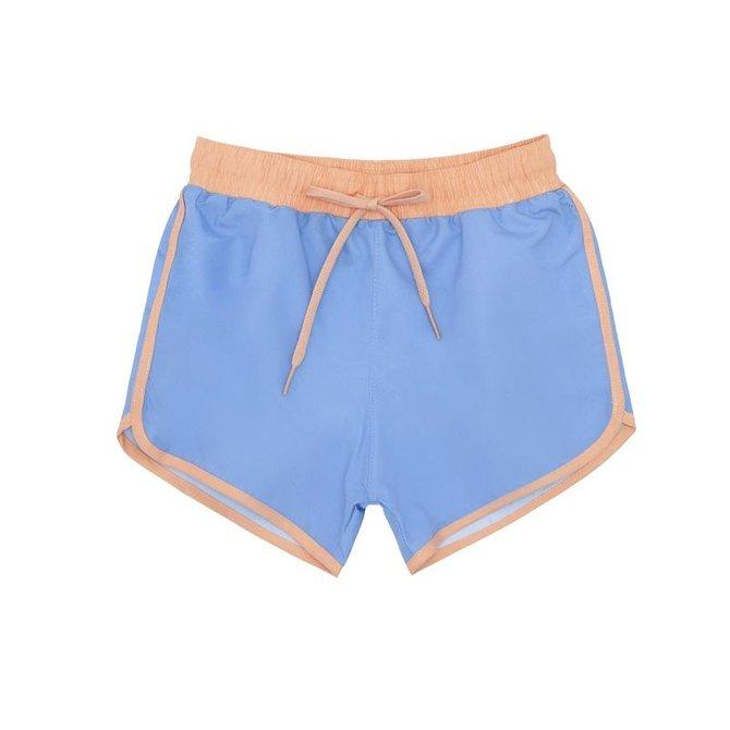 Minnow Swim Boys Blue Contrast Waistband Boardie