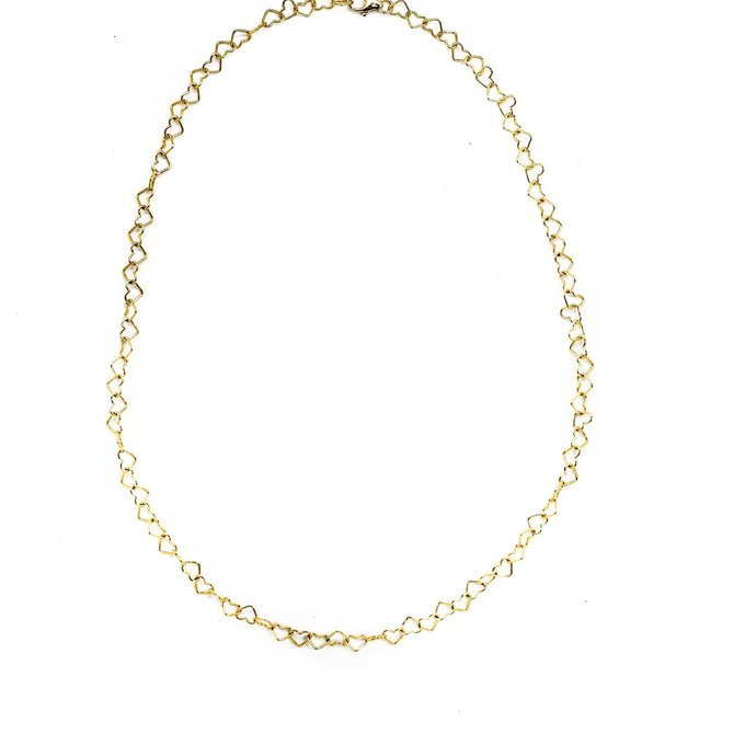 Donohue Collection Little Hearts Necklace Gold