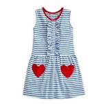 Bella Bliss Heart Pocket Pima Dress