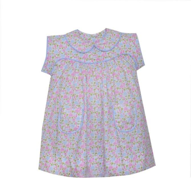 Remember Nguyen Pink/Blue Nessie Dress