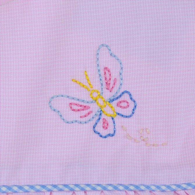 Remember Nguyen Pink Butterflies Dress