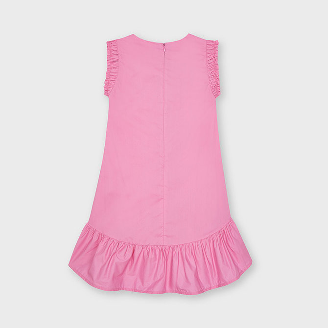 Mayoral Pink Poplin Dress