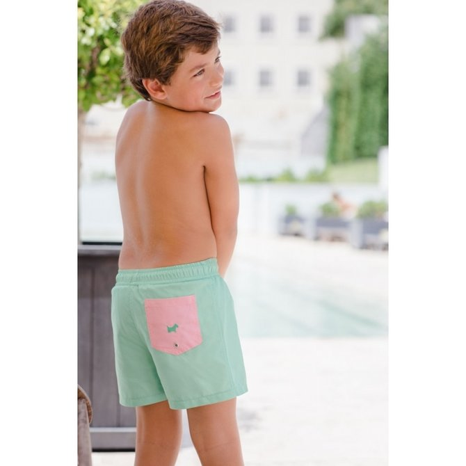 Sal & Pimenta Curious Marigold Swim Trunks