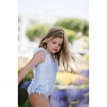 Sal and Pimenta Amryllis Blossom Swimsuit