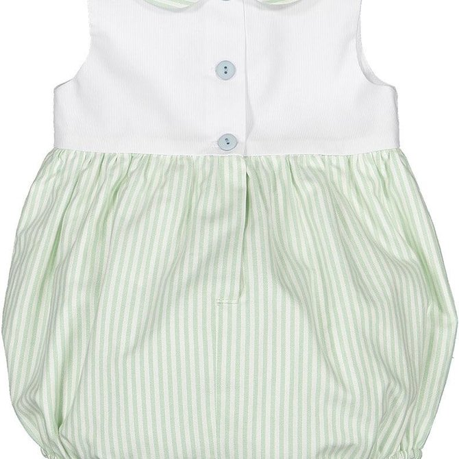 Sal and Pimenta Pansy Little Boy Romper