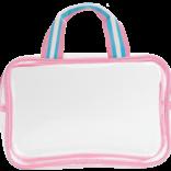 Iscream Swirl Tie Dye Cosmetic Bag Trio