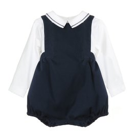 Sophie & Lucas Chinoise Navy Overall