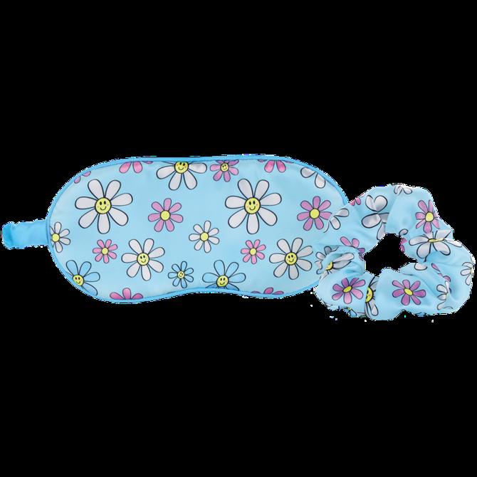 Iscream Daisies Eye Mask & Scrunchie Set
