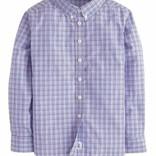 Little English Button Down Shirt- Hawthorne Plaid