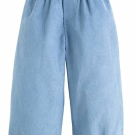 Little English Banded Pull on Pant- Stormy Blue Corduroy