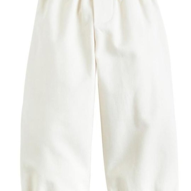 Little English Banded Pull on Pant- Pebble Twill