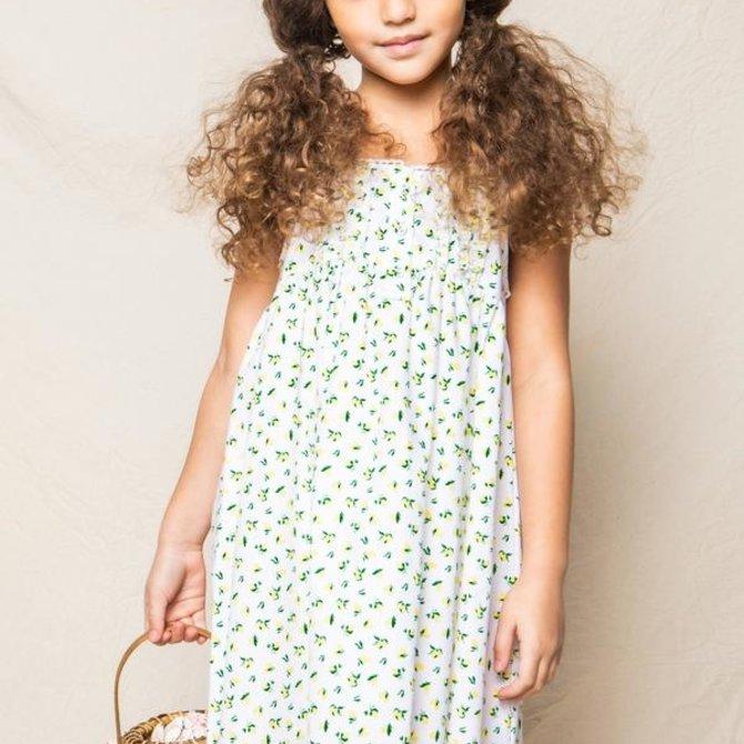 Petite Plume Charlotte Nightgown Citron