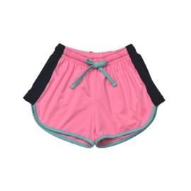 SET Athleisure Annie Short- Pink/Navy/Turq